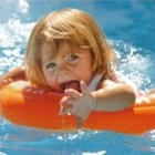 Swimtrainer круг оранжевый Оригинал! Доставка бесплатно!