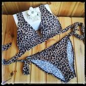 В наличии Леопардовый купальник  в стиле Victoria`s Secret