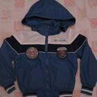 нова осінньо-весняна куртка на дві сторони для хлопчика 3-4 років.
