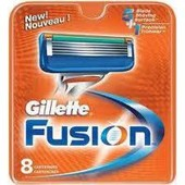 Gillette Fusion лезвия 8 штук gillette
