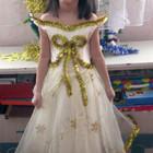 платье снежинки 2,5-5лет ПРОКАТ