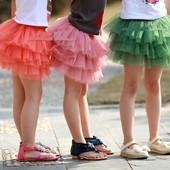 Шестиярусное чудо юбка пачка 1-12 лет ту-ту на хлопк. подкладке Наличие