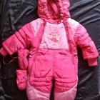 Зимние комбинезоны на малышей 1-1,5 года