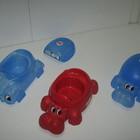 Горшок OK Baby Ippopotamo синий