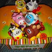 Ферма Животные резиновые на колёсиках аналог Playskool animal