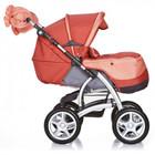 Geoby C705 детская коляска трансформер c муфтой для мамы!