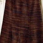 Теплая юбка в коричневых тонах 48-50 размера