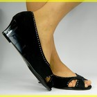 КРАСИВЫЕ Черные туфельки :)) р.36