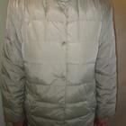 Курточка-пуховик (гусиный пух) деми женская размер 42 (большемерит)