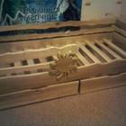 Детская кровать деревянная Солнышко!