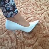 Свадебные туфли Blossem кожа 37 р.