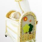 BabyHit. Кроватка детская BC-382 - Beige/green, Бежевый с зеленым