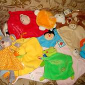 Игрушки, комфортер, сплюшки, платочки, для сна, кукольного театра