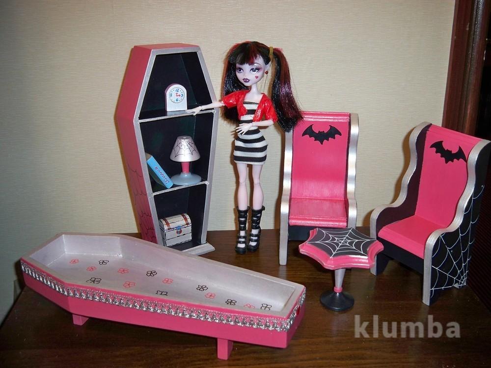 Кукольный домик Monster High. Мебель для кукол Монстер Хай., 600 грн. в Киеве - Кукольные домики, natalia - Клумба