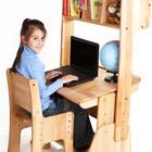 Комплект  парта + стул + надстройка.Бесплатная доставка