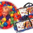 Шарики (мячики) Intex для сухих бассейнов и игровых центров.