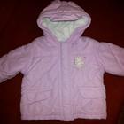 Демисезонная куртка для девочки 6 мес. нежно-розового цвета