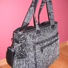 Эксклюзивная  сумка для коляски из стриженного меха.
