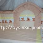 Детская постель в кроватку- Высокие Бортики и Сменная  из 3 ед.