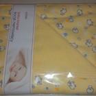 Плед-одеяло Duetbaby двухсторонний, хлопок (трикотаж+махра) - в ассортименте