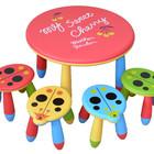 Детский столик с четырьмя табуретками
