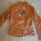 Стильные куртки кожзам в наличии