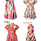 Платья, сарафаны, брендовые Zara, Monsoon, Catimini