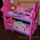 Кроватка для кукол 2-х ярусная Baby Set