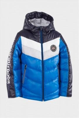 Курточка для мальчика полосочки тм evolution (goldy) фото №1