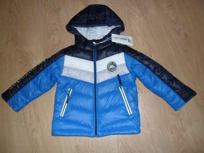 Курточка для мальчика полосочки тм evolution (goldy) фото №4