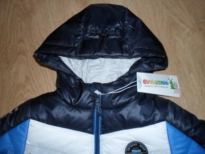 Курточка для мальчика полосочки тм evolution (goldy) фото №5