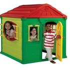 Игровой домик Keter Jumbo Play House+ детский столик в подарок