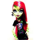 кукла монстр хай Monster High  Венера Макфлайтрап серия Чарлидеры