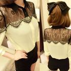 Женская блузка, рубашка, гипюр