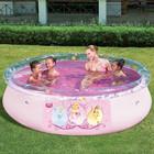 Детский надувной бассейн принцессы диснея Disney Bestway 198х51см (Bestway 91052)
