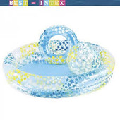 Эконом-набор  Intex 59460 бассейн, круг, мяч