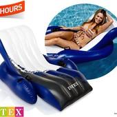 Пляжное надувное кресло - шезлонг Intex, 58868