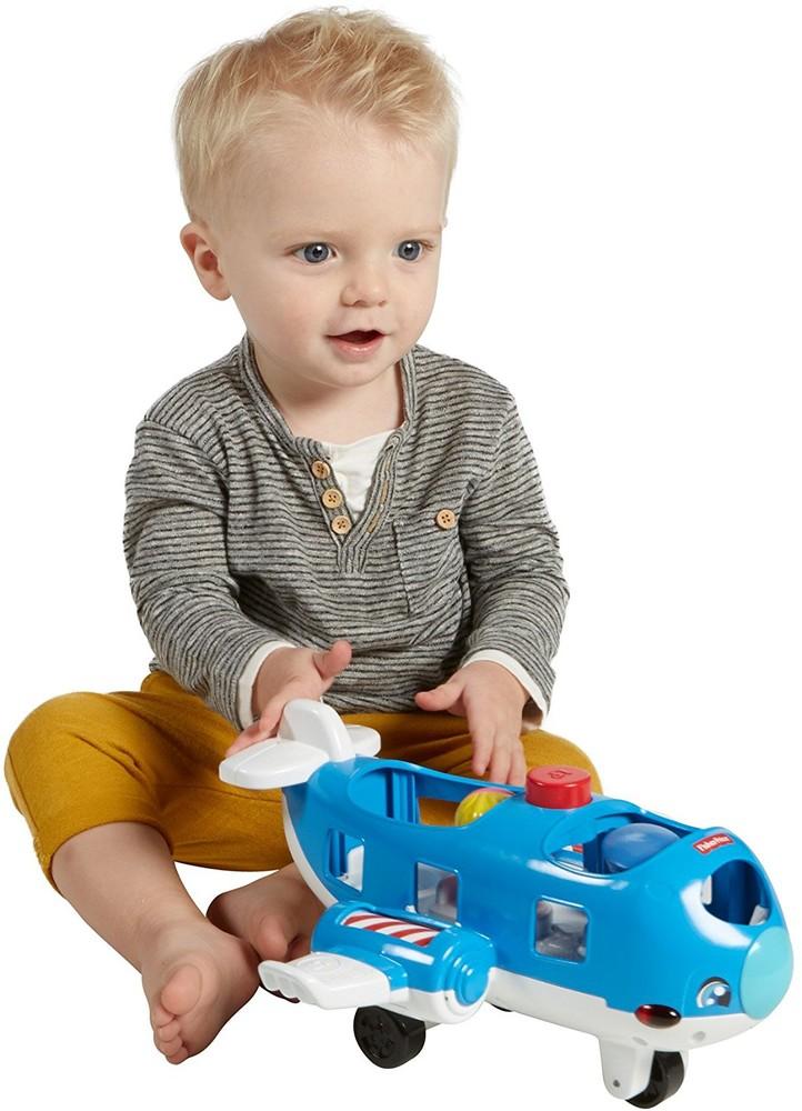 Самолет fisher price из серии little people в наличии обновленный фото №1