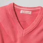 Мужской свитер пуловер ТСМ коралл р52
