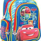 Ранец на колесах 1 Вересня Тачки  (синий) 551615