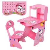 Детская парта растишка M 0324-9 Hello Kitty
