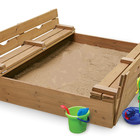 Детская песочница,песочница с крышкой,Pes-3
