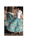красивая длинная юбка сарафан реальные фото