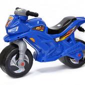 Музыкальный мотоцикл Орион синий 501 каталка байк
