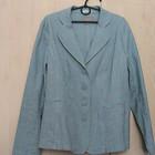 пиджак льняной - 20р (52-54) лен хлопок стрейч