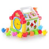 Логическая музыкальная игрушка-сортер 9196