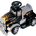 Детский электромобиль SC-879A-Black грузовик