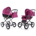 Универсальная коляска Roan Marita Lux S-133 розовый.