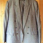 Праздничный, выходной костюм с двубортным пиджаком, размер 50-52.