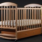 Кроватки с ящиком ясень,ольха